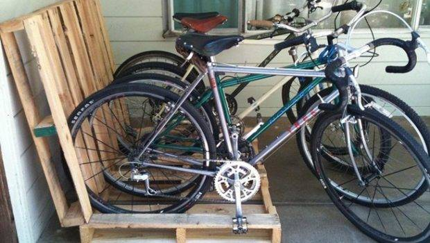 Bike Try One These Cheap Simple Diy Bicycle Racks