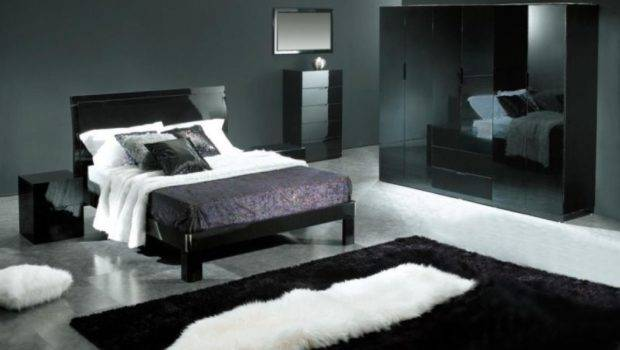 Black Bedroom Design Ideas Gray