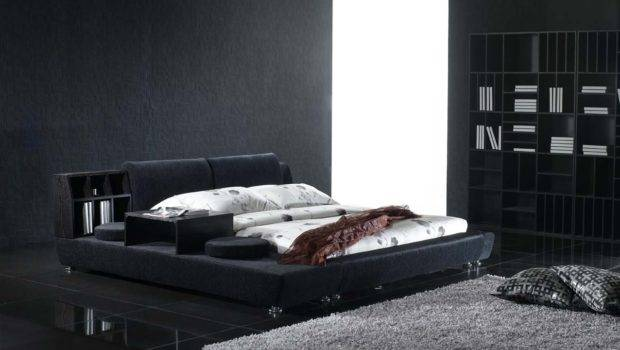 Black Bedroom Interior Modern Furniture Remarkable