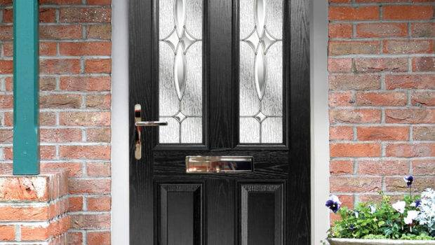 Black Composite Door Made Measure Quality