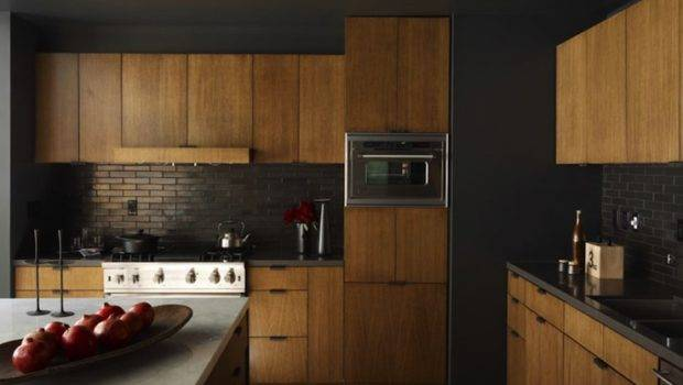 Black Kitchen Backsplash Contemporary Curated