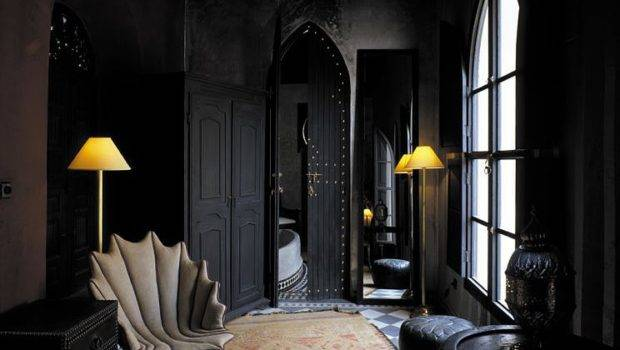 Black Wall Bold Statement Interior Design Homesthetics