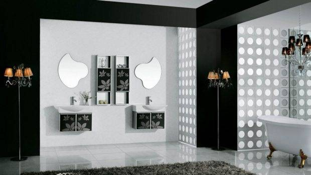 Black White Bathrooms Design Ideas Decor Makerland