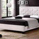 Black White Cool Modern King Bed Frame Can Applied