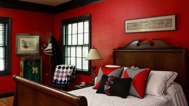 Black White Red Bedroom Decorating Ideas Home Delightful
