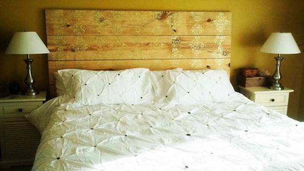 Blog Modest Style Make Headboard Out Pallet Wood