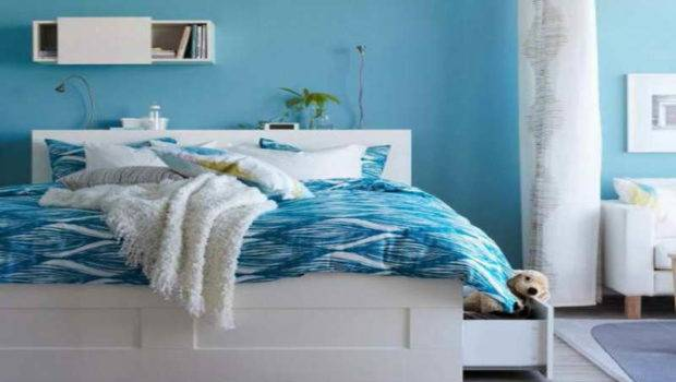 Blue Bedroom Paint Colors Warmth Ambiance Your Room Pillows
