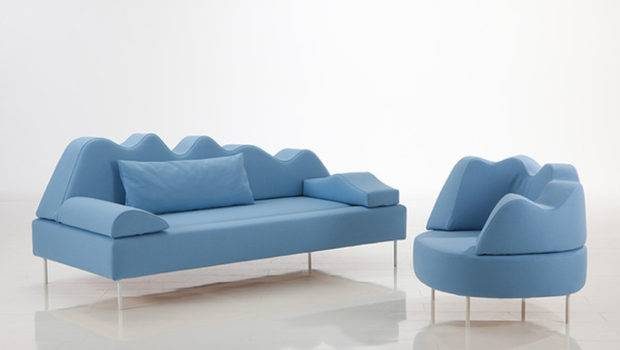 Blue Color Tone Home Sofa Set Iroonie