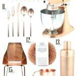 Blue Kitchen Accessories Copper Items