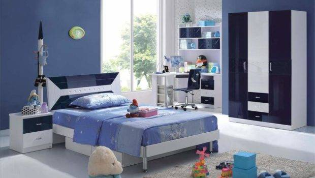 Blue Teenage Boys Bedroom Decorating Ideas Felmiatika