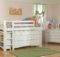 Bolton Kids Windsor Loft Bed Wakefield Dresser Bookcase White