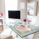 Bonnie Bakhtiari Pink Chic Home Office Tour