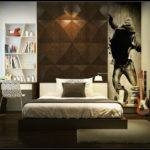 Boys Bedroom Black Wall Art Decor Ideas Interior Design
