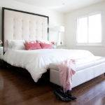 Breathtaking Queen Bed Without Headboard Decorating Ideas