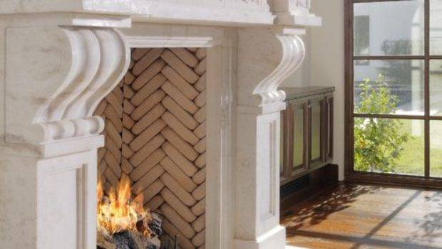Brick Inside Fireplace Home Design Ideas