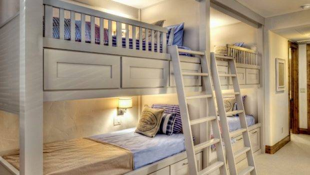 Bright White Bunk Bed Ideas Wall Lights Ladder