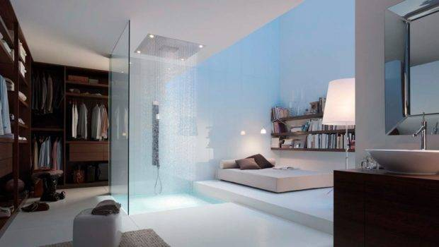 Briliant Design Bathroom Modern Ensuite Dressing Room Decosee
