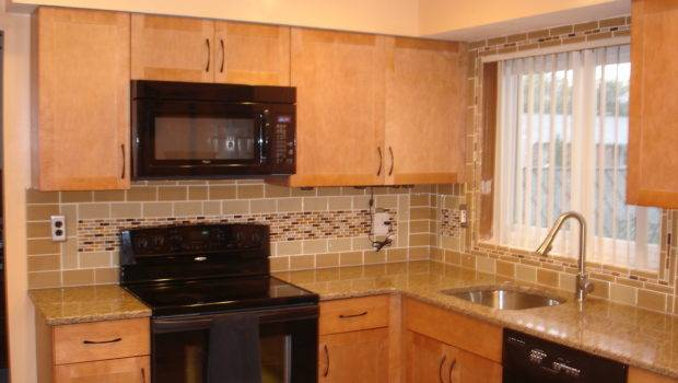 Brilliant Subway Tile Kitchen Backsplash Granite