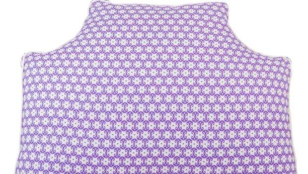 Bronwyn Lavender Small Scale Headboard Pillow Can Monogrammed