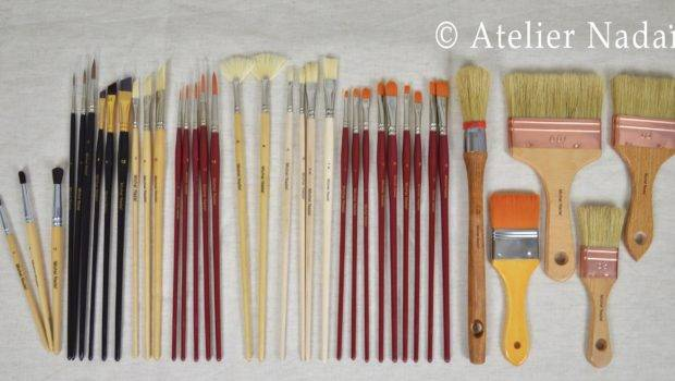 Brushes Painting Murals Set Contains Total