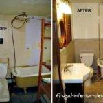 Budget Bathroom Makeover Ideas Updating Small Style