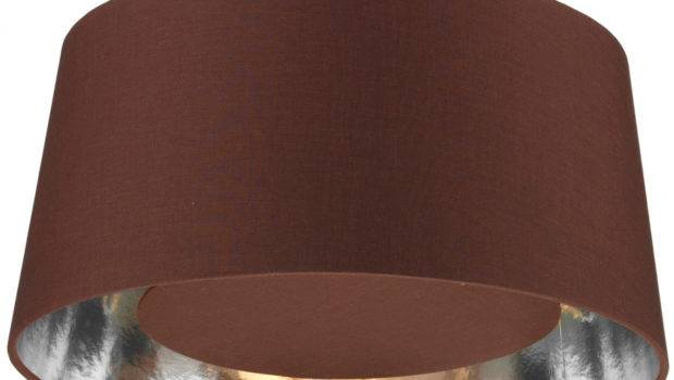 Bugle Silver Lined Brown Ceiling Pendant Lamp Shade Bug