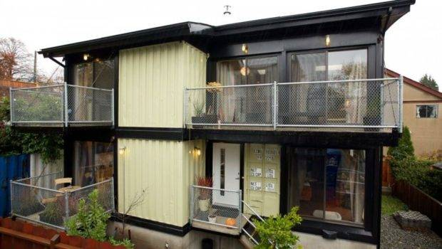 Build Homes Using Old Shipping Containers House Above Just One