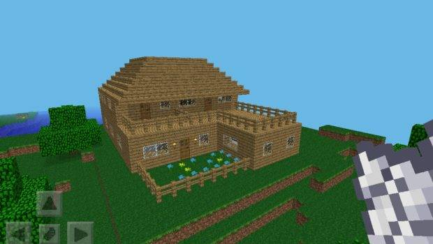Build House Minecraft Pocket Edition