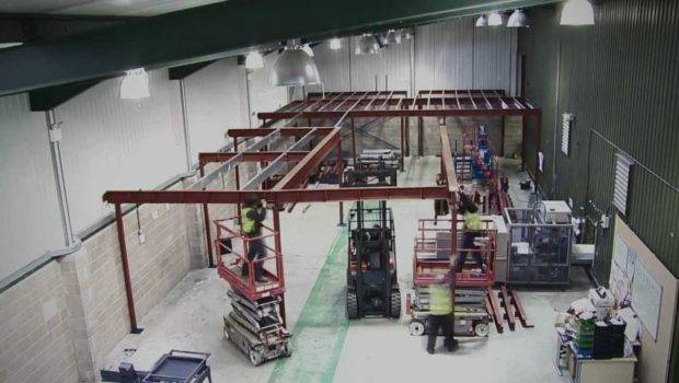 Build Mezzanine Floor Spaceway Youtube