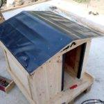 Build Pallet Dog House Perfect Manner