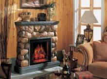 Build Rustic Stone Fireplaces Cool Design