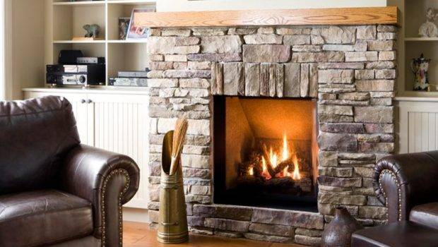 Build Rustic Stone Fireplaces Wonderful