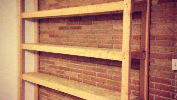 Build Shelves Your Garage Parties Pennies