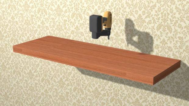 Build Simple Floating Shelves Wikihow