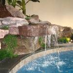 Build Waterfall Outdoor Fountains Diy Water Powered Large Indoor Wall
