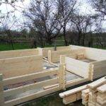 Build Wooden House Step