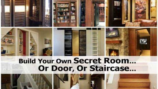 Build Your Own Secret Room Door Staircase