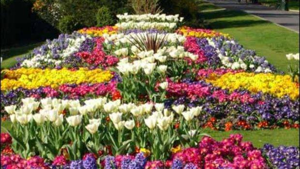 Building Stone Flower Beds Great Idea Landscaping