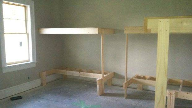 Built Bunk Beds Working Drawers