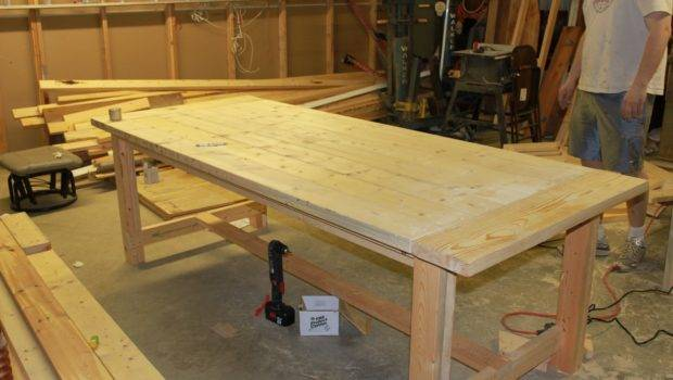 Built Diy Dining Room Table Plans