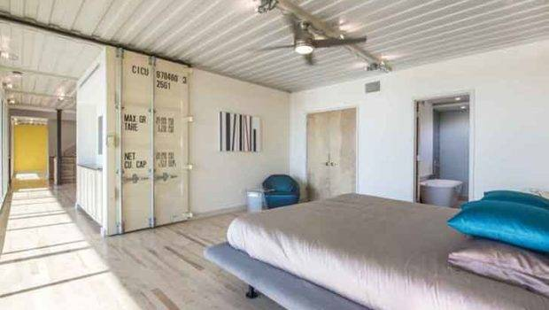 Built Shipping Containers Bedroom