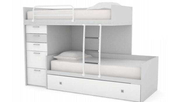 Bunk Bed Code Off Set Drawer Tower Trundle