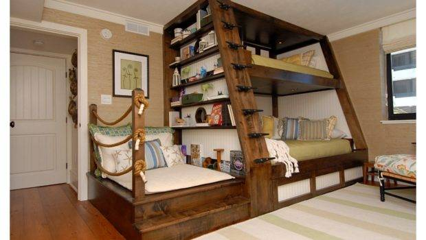 Bunk Bed Kids Room Del Mar Homeworlddesign