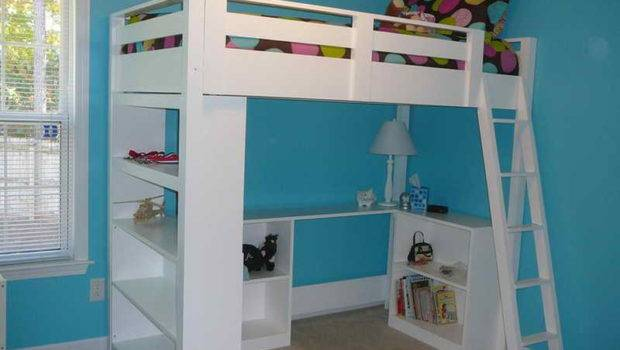 Bunk Bed Plans King Loft Also Bedrooms