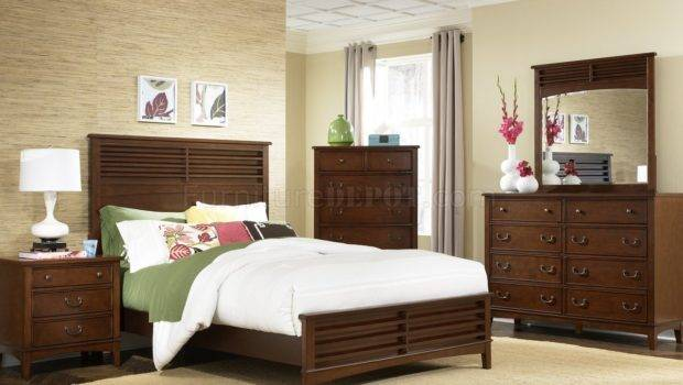 Burnished Tobacco Finish Transitional Style Bed Options Lfbs