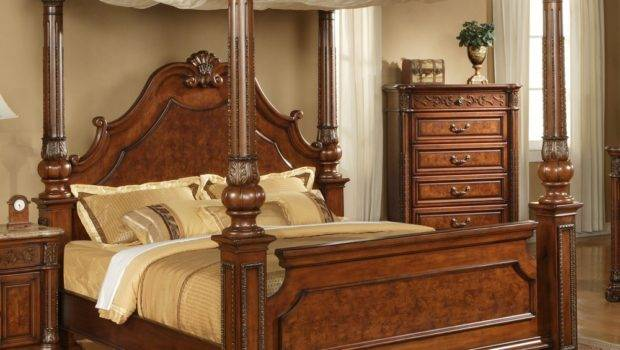 Buy King Canopy Bed Midcityeast