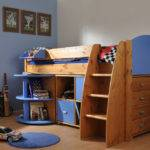 Cabin Bed Pull Out Desk Drawers Storage Cube Has