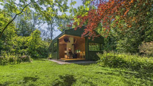 Cabin Netherlands Park Fit Modern Day Thoreau Design News