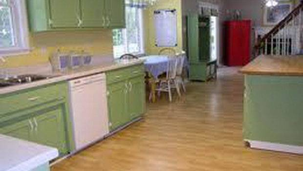 Cabinet Painting Color Ideas Green Kitchen