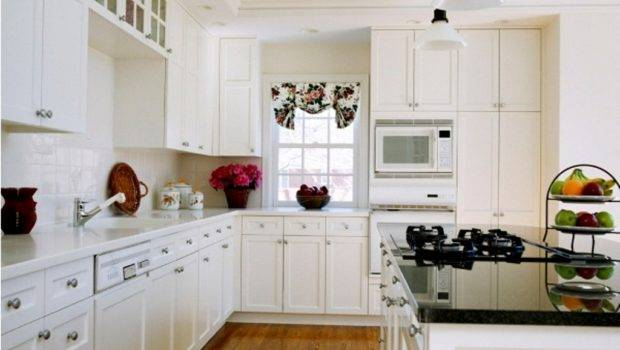 Cabinets White House Decoratings Painting Kitchen